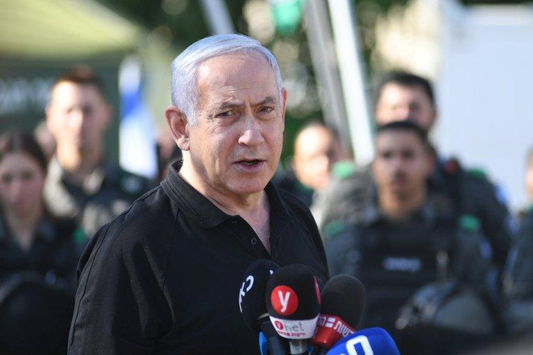 """Benjamin Netanyahu: """"Cualquiera que actúe como un terrorista será tratado como tal"""""""