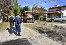 Se asfalta la calle Quebrachal del barrio Belgrano y la semana próxima se habilita al tránsito