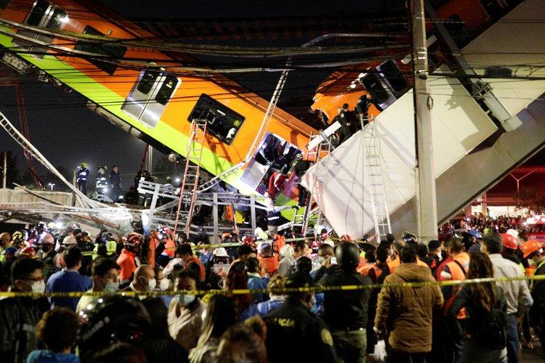 México: Gobierno de la Ciudad de México confirmó 23 fallecidos tras el desplome en la Línea 12 del Metro