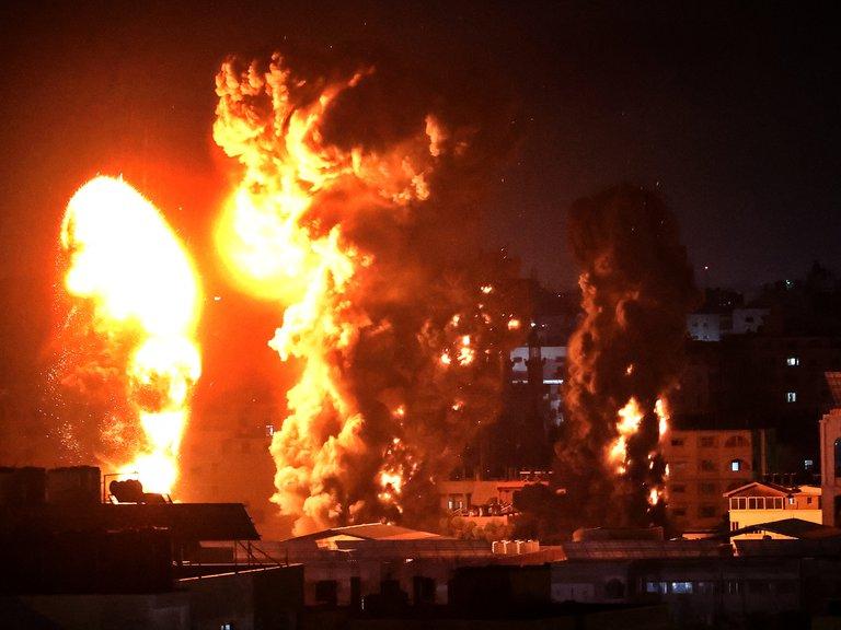 El ejército de Israel bombardeó las residencias de nueve comandantes de Hamas que eran utilizadas como infraestructura terrorista
