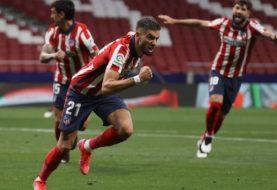El Atlético Madrid derrotó a la Real Sociedad y dio otro paso hacia la consagración