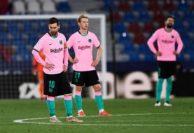 Barcelona empató 3-3 ante el Levante y complicó su futuro en la pelea por el título