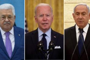 Joe Biden habló con el presidente palestino y exigió que el grupo terrorista Hamas cese el lanzamiento de cohetes contra Israel