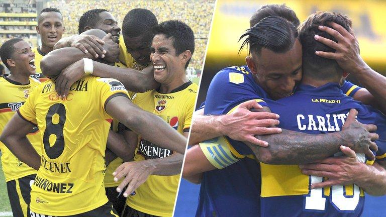 Copa Libertadores: Boca ante Barcelona en Ecuador: hora y formaciones