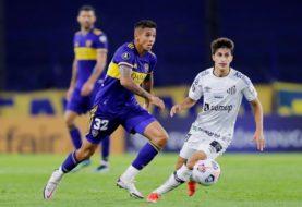 Boca visita al Santos con el objetivo de lograr un triunfo que lo consolide en la Copa Libertadores: hora, TV y formaciones