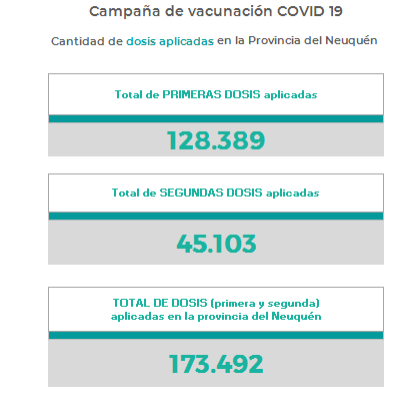 Neuquén informó 498 contagios y siete muertos por coronavirus este domingo