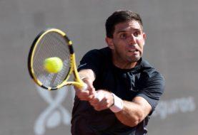 Federico Delbonis dio otro resonante golpe en el Masters 1000 de Roma: eliminó a David Goffin