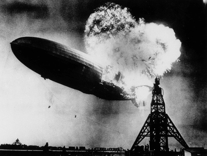 Aniversario – El final trágico del Hindenburg: cómo se incendió el dirigible estrella del régimen nazi