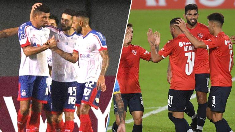 Independiente enfrentará hoy a Bahía en Brasil
