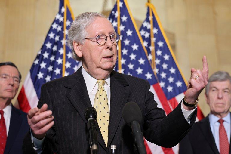 El partido Republicano bloqueó en el Senado la creación de una comisión para investigar el asalto al Capitolio de Estados Unidos