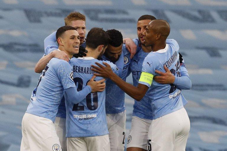 Manchester City venció al PSG y es finalista de la Champions League