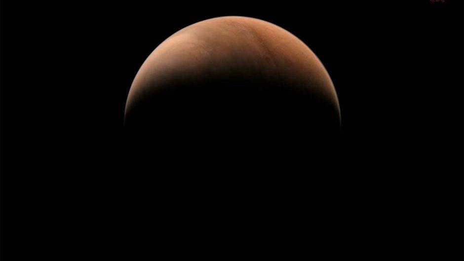 China buscará posar sobre la superficie de Marte un robot teleguiado