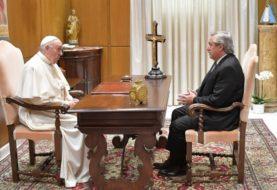 """Fernández: """"El Papa me expresó su idea de apoyarnos en todo lo que pueda"""""""