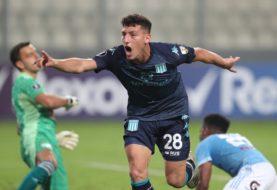 Racing venció 2-0 a Sporting Cristal en Perú y se afirma en la Copa Libertadores