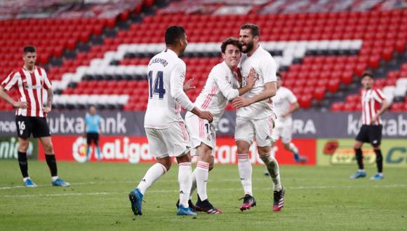 Real Madrid venció al Athletic y llega con expectativas a la última fecha de la Liga
