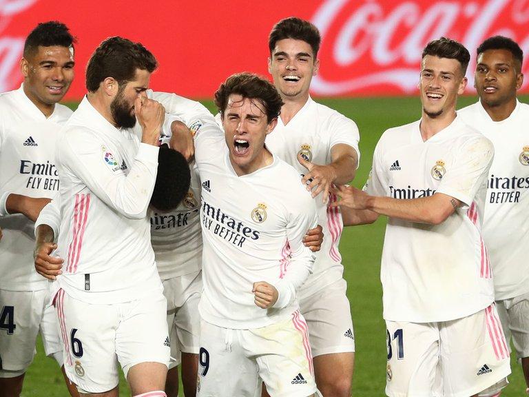 Real Madrid triunfó y sigue al acecho del Atlético, que la semana que viene visitará al Barcelona