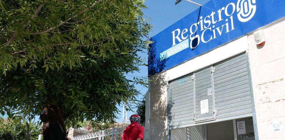 Por restricciones, el Registro Civil establece un nuevo esquema de atención