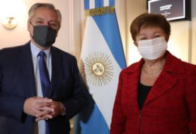 """Alberto Fernández y Georgieva se reunieron para negociar la deuda y ambos coincidieron en que el diálogo fue """"muy constructivo"""""""