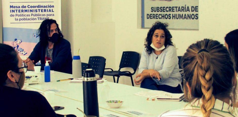 Se reunió la mesa que coordina políticas públicas para la población trans