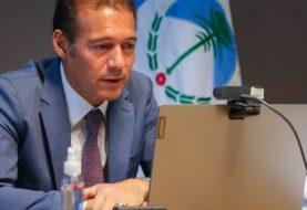 """Gutiérrez expuso en la Cámara de Comercio de Estados Unidos: """"Tenemos que desarrollar rápidamente la industria energética"""""""