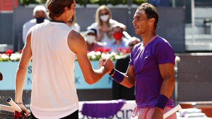 Sorpresa en el Masters 1000 de Madrid: Alexander Zverev eliminó a Rafael Nadal en los cuartos de final