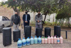 Internos del Ex Maruchito confeccionaron estufas a leña solidarias en General Roca