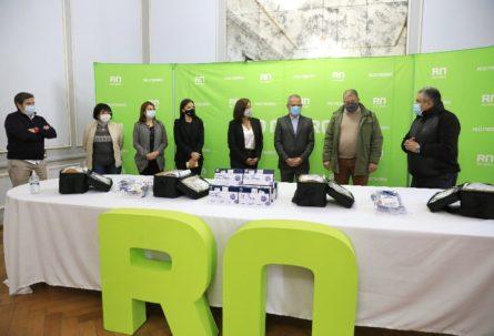El Banco Patagonia donó a la Provincia elementos para reforzar la atención de casos de COVID-19