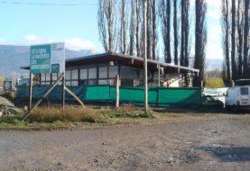 El Bolsón: la construcción del Centro de Información Turística está en su última etapa de obra