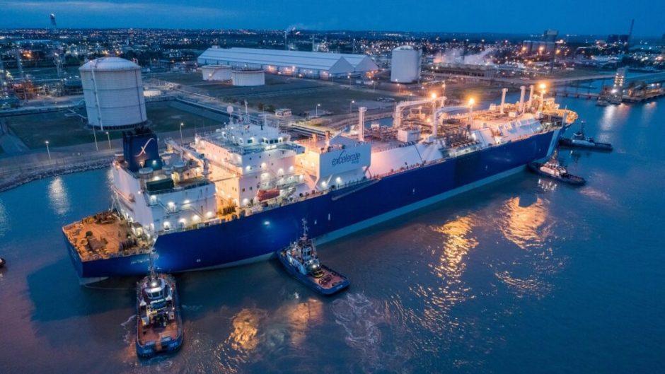 Exemplar comenzó a regasificar en el Puerto de Bahía Blanca