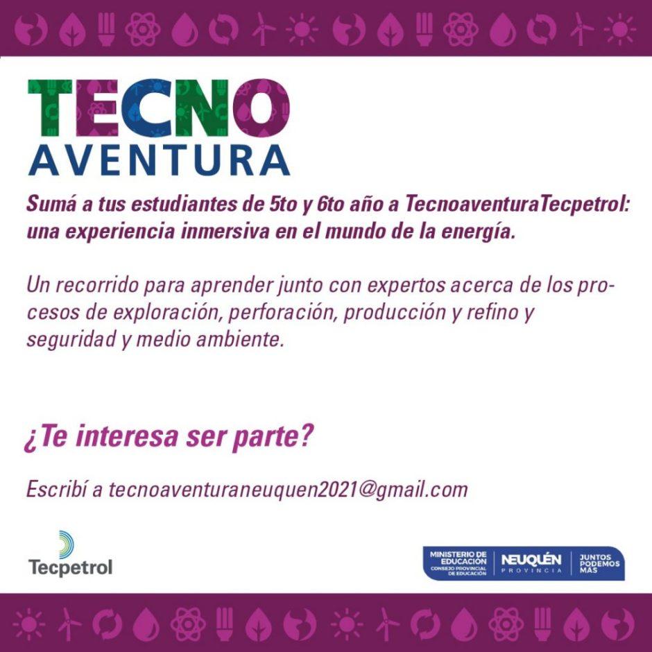 Se realizará una nueva edición de TecnoAventura en Neuquén