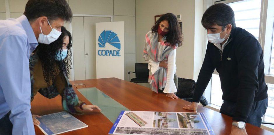 COPADE entregó el anteproyecto del Paseo Lineal La Picasita