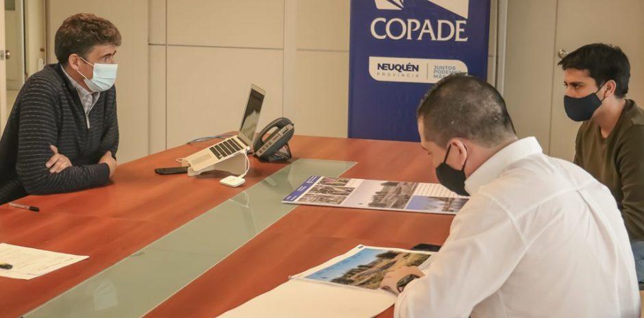 COPADE entregó la propuesta para desarrollar el Paseo de la Laguna