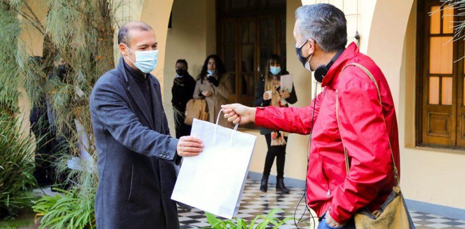 """Gutiérrez: """"gracias al periodismo de la provincia del Neuquén"""""""
