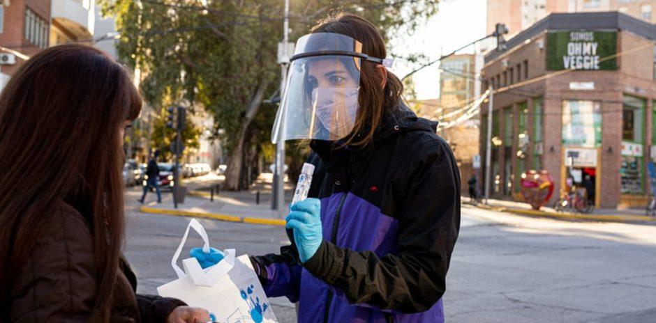 El ISSN promociona hábitos saludables en el centro de Neuquén