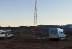 Instalaron en Los Miches un mástil de telecomunicaciones para mejorar la conectividad