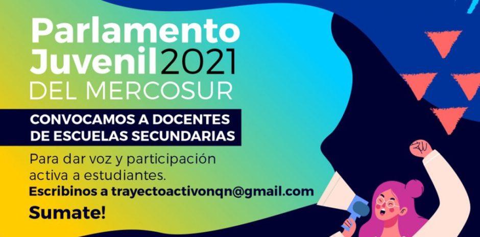 Invitan al Parlamento Juvenil del Mercosur 2021