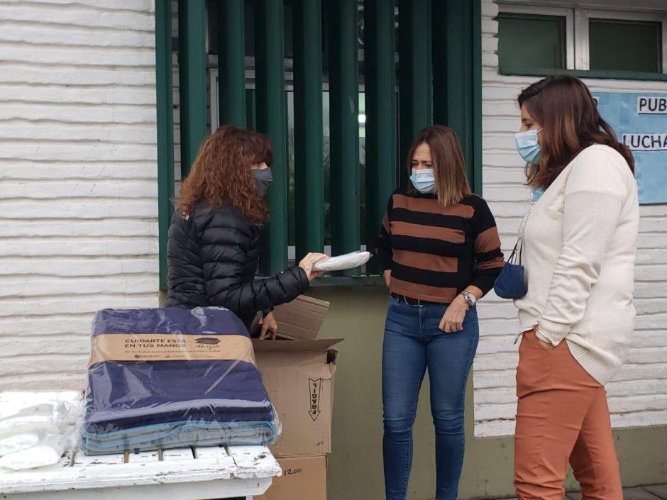 La Municipalidad de Neuquén hizo entrega de insumos sanitarios al Hospital Bouquet Roldán