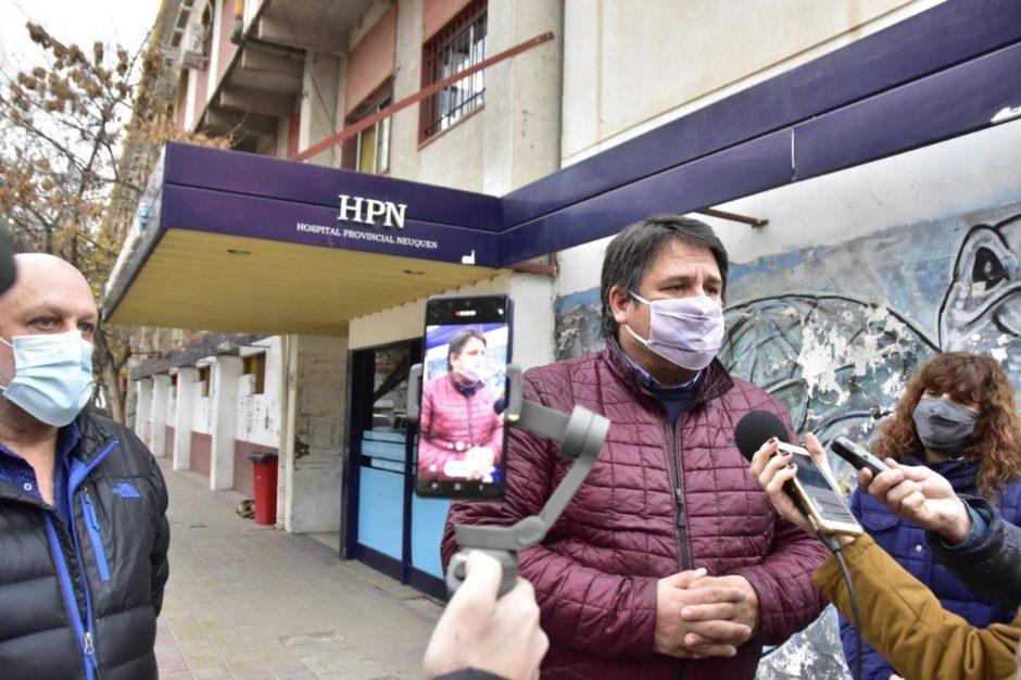 La Municipalidad de Neuquén comienza a ejecutar obras en los accesos de los hospitales