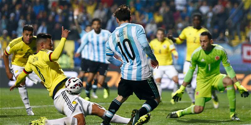 Argentina empató 2 a 2 con  Colombia en Barranquilla por las Eliminatorias rumbo al Mundial