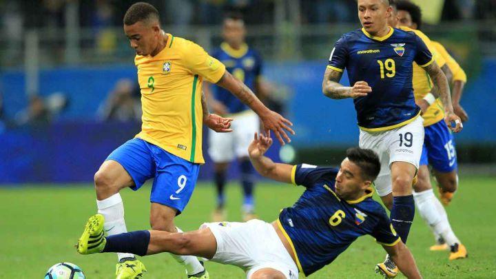 Brasil buscará una victoria como local ante Ecuador que le permita sostener su puntaje perfecto: hora, TV y formaciones