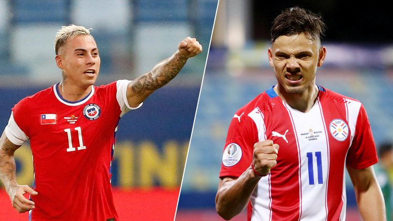Paraguay buscará asegurarse un lugar en cuartos de final ante una selección chilena que quiere evitar un posible cruce con Brasil: hora y TV