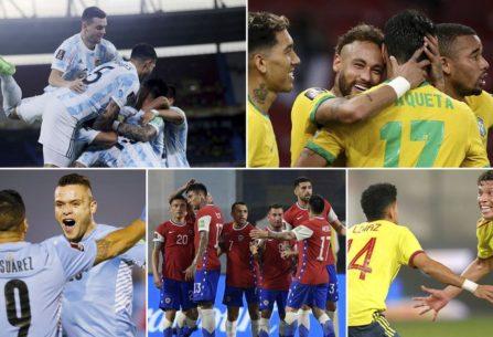 Se completó la primera fecha de la Copa América: tabla de posiciones y  fixture de la próxima jornada