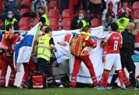 Dramático momento en la Eurocopa: se desvaneció el futbolista Christian Eriksen en Dinamarca-Finlandia
