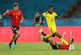 España no pudo con Suecia en su debut en la Eurocopa