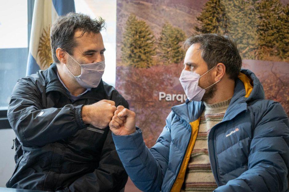 Cabandié y Martínez pusieron en marcha un programa que garantiza la provisión de energías renovables a los parques nacionales de todo el país