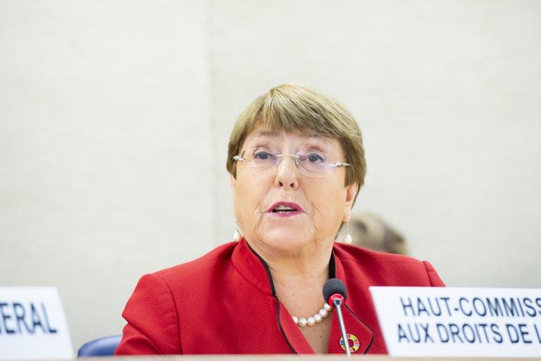 Michelle Bachelet exigió la liberación inmediata de los detenidos en las protestas contra la dictadura cubana e instó al diálogo