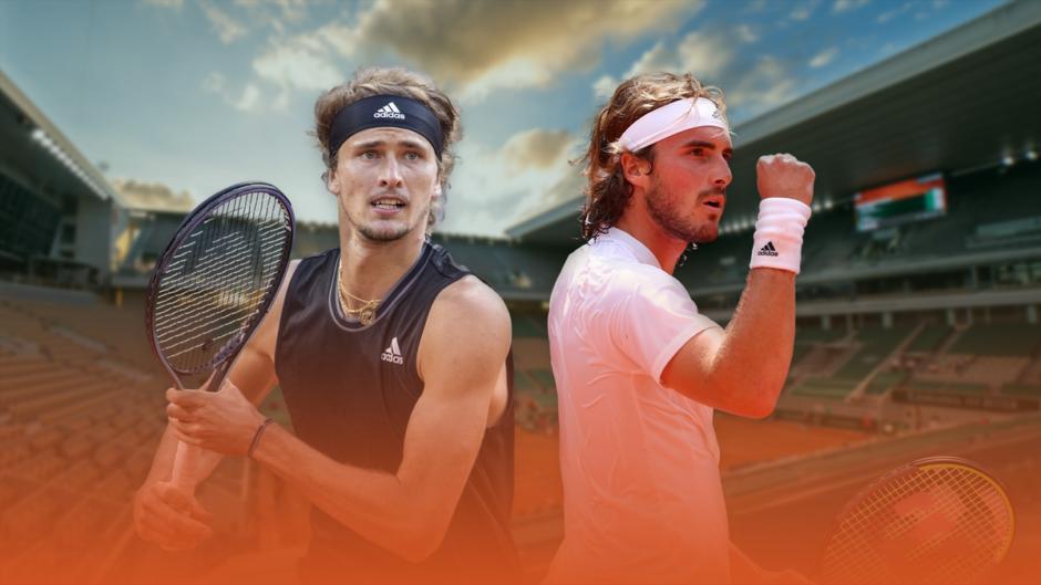 Roland Garros 2021: Tsitsipas y Zverev chocan antes de la final anticipada entre Djokovic y Nadal