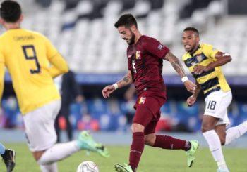 Venezuela y Ecuador empataron 2-2 en un partidazo por el Grupo B en la Copa América
