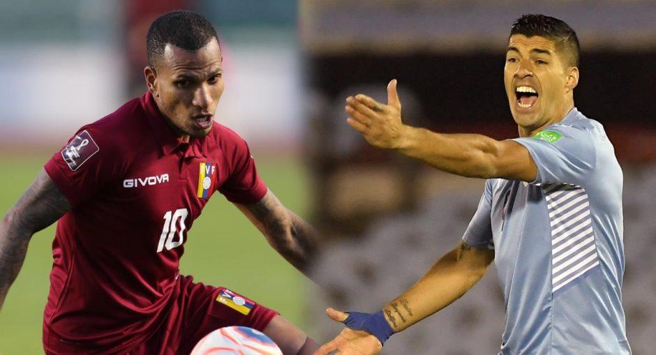 Eliminatorias Sudamericanas: Uruguay visita a Venezuela en busca de un triunfo que lo deje en zona de clasificación