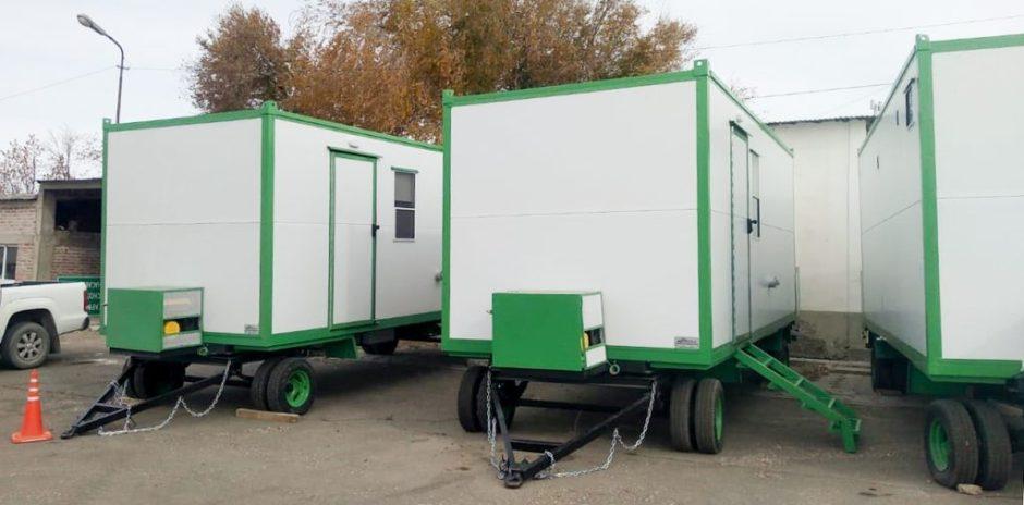 Vialidad Provincial adquirió nuevas casillas rodantes
